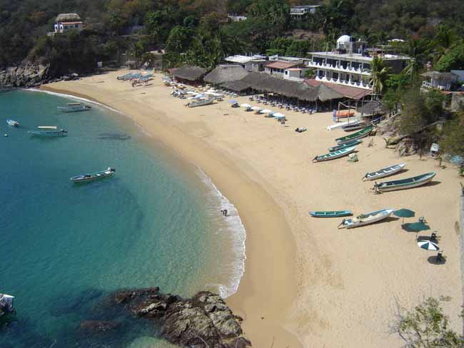 Puerto Angel beach