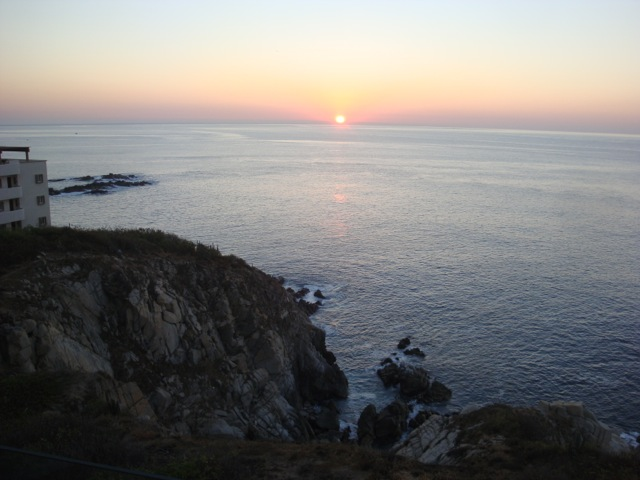 Punta Arrocito sunset