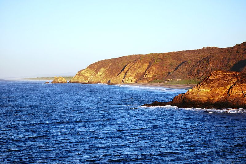 Punta Cometa - View of the West