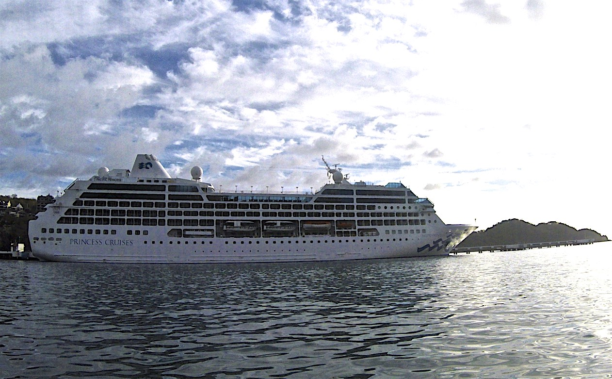 Princess Cruise Ship Huatulco