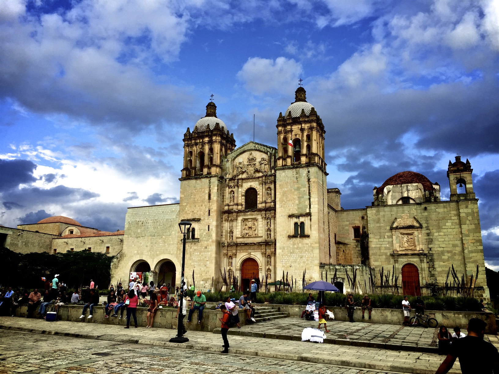 Colonial Church Oaxaca City