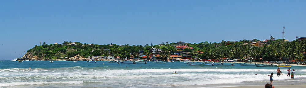 Playa Principal Puerto Escondido